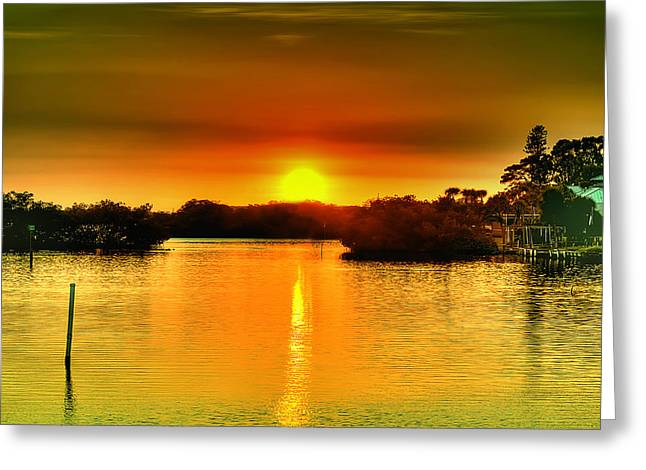 Evening Time Greeting Card