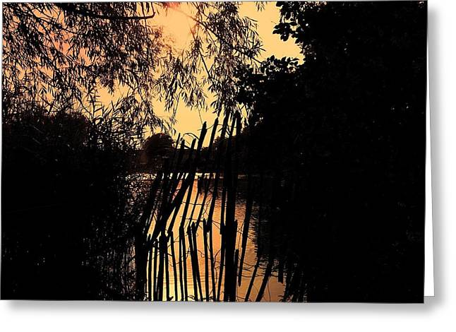 Evening Time Greeting Card by Keith Elliott