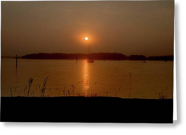 Eventide. Greeting Card by Angela Aird