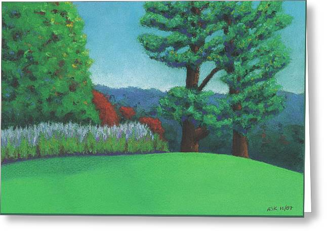 Ever Green Greeting Card