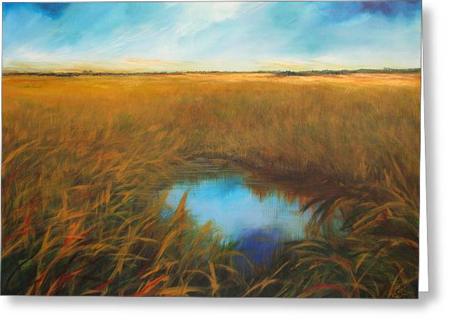 Everglades Greeting Card by Michele Hollister - for Nancy Asbell