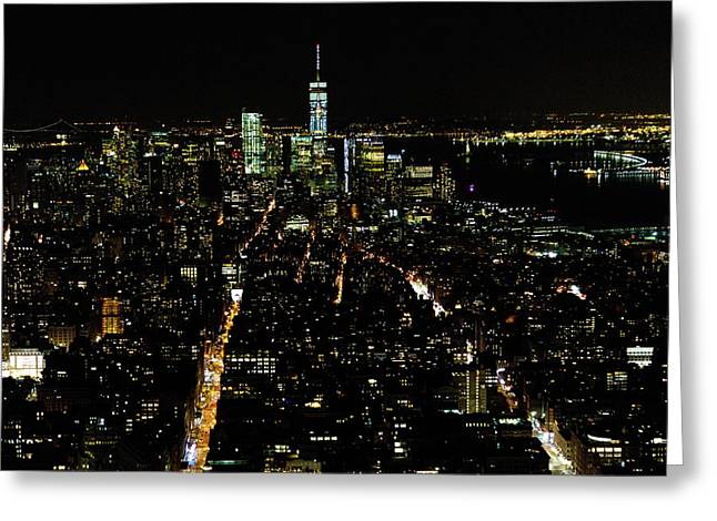 Everglow Of New York  Greeting Card