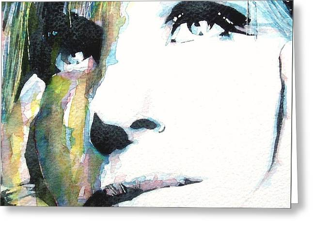 Evergreen Greeting Card by Paul Lovering