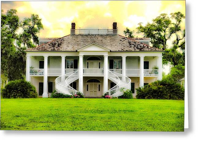 Evergreen Plantation Greeting Card