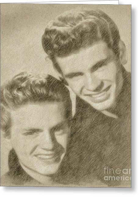 Everly Brothers Greeting Card