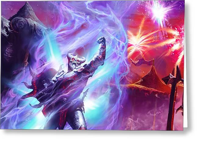 Everquest Celebration Greeting Card