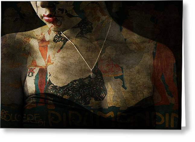 Every Picture Tells A Story Greeting Card by Paul Lovering