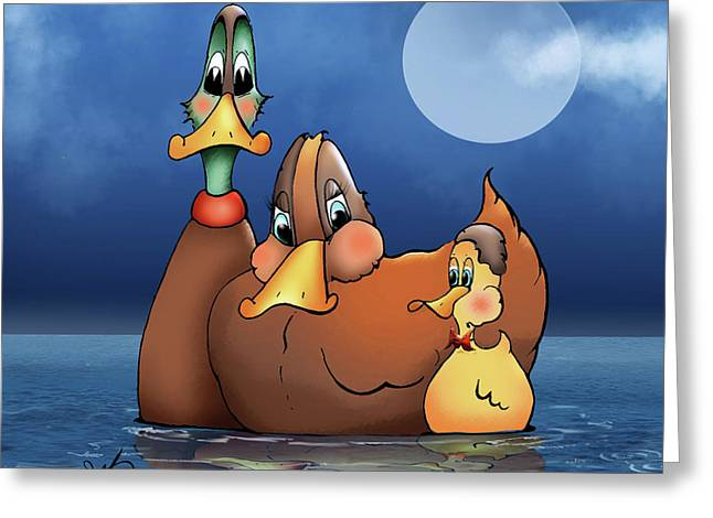 Everything Is Just Ducky Greeting Card by Bob Belz