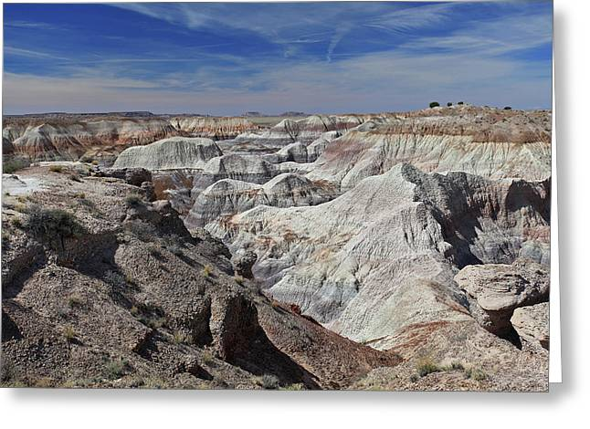 Evident Erosion Greeting Card by Gary Kaylor