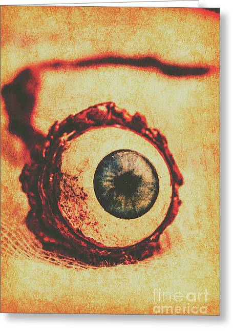 Evil Eye Greeting Card by Jorgo Photography - Wall Art Gallery