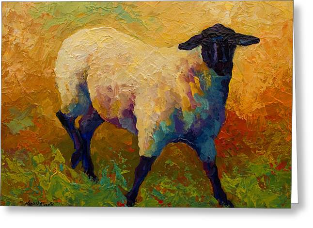 Ewe Portrait Iv Greeting Card