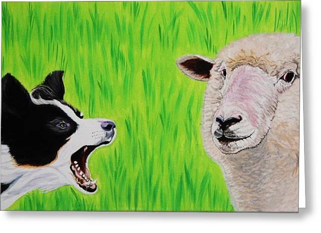 Ewe Talk'in To Me? Greeting Card