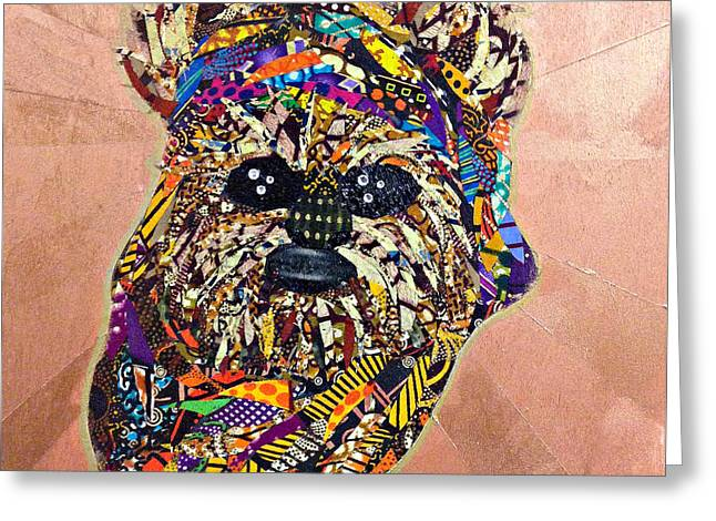 Ewok Star Wars Afrofuturist Collection Greeting Card