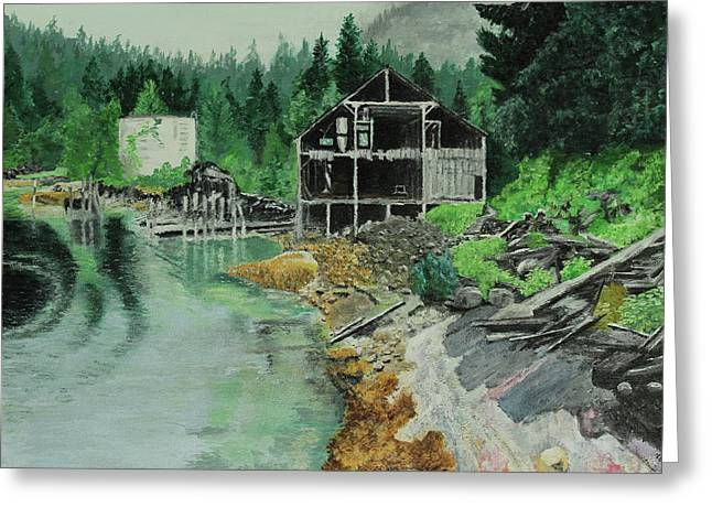 Ex-cannery Greeting Card
