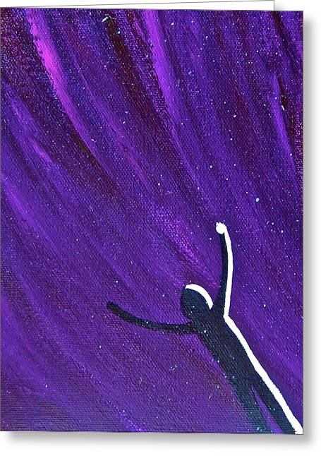 Exaltation Or Explanation Greeting Card by Ad Pock