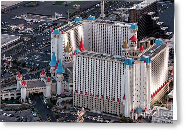 Excalibur Hotel And Casino Lv Greeting Card