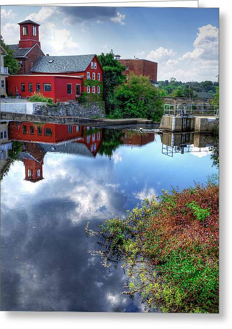 Exeter New Hampshire Greeting Card