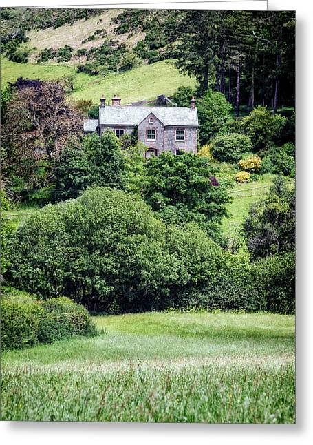 Exmoor Cottage Greeting Card