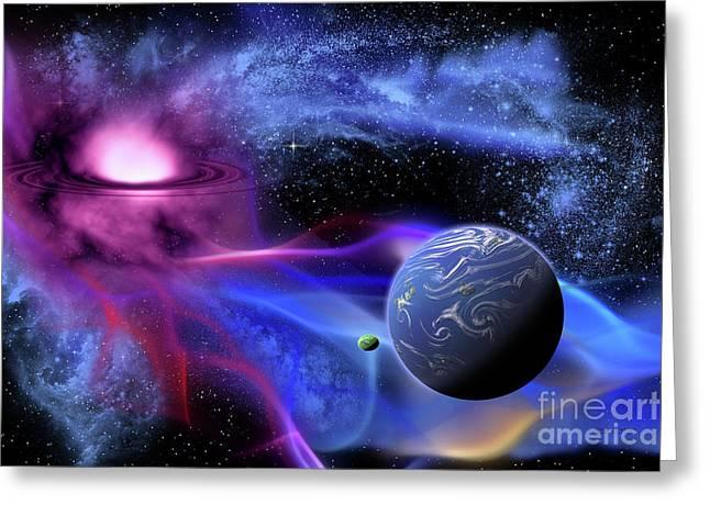 Exoplanet Greeting Card