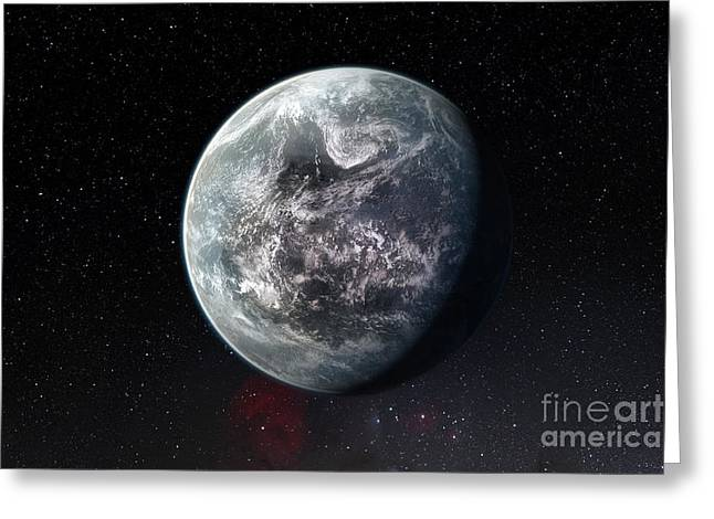 Exoplanet Hd 85512 B Greeting Card by ESO/Martin Kornmesser/Nick Risinger
