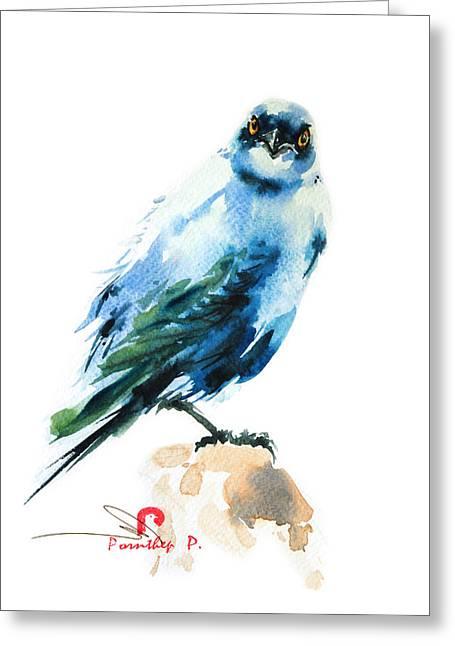 Exotic Bird 4 Greeting Card
