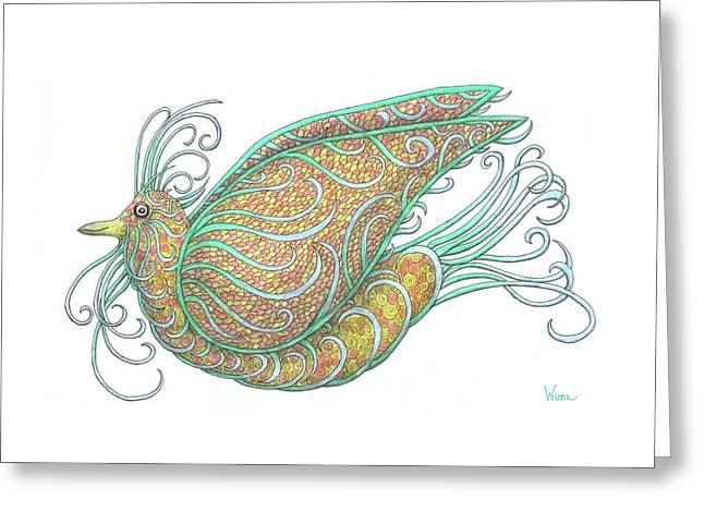 Exotic Bird IIi Greeting Card