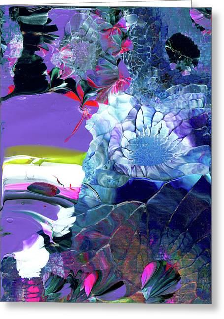 Exotic White Rose Island Greeting Card