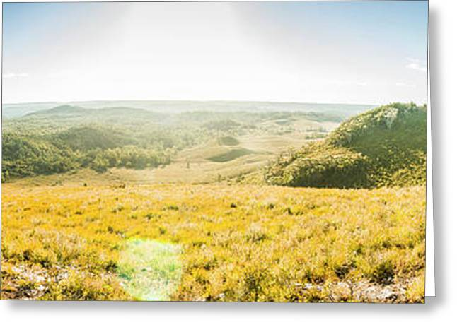 Expansive Open Plains Greeting Card