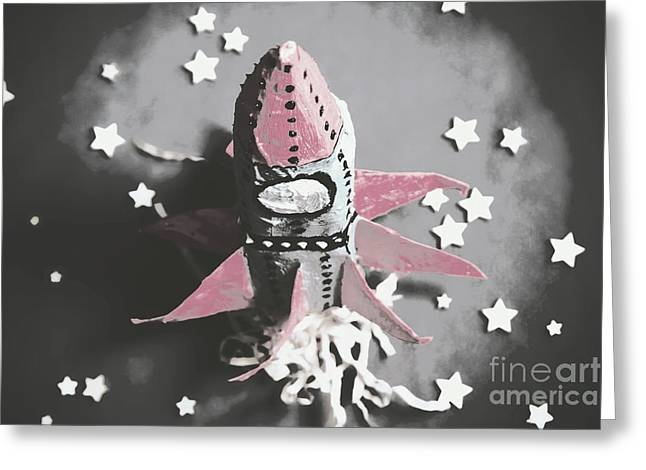 Exploration Into Outer Space  Greeting Card by Jorgo Photography - Wall Art Gallery