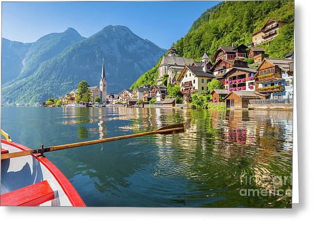 Exploring Hallstatt Greeting Card