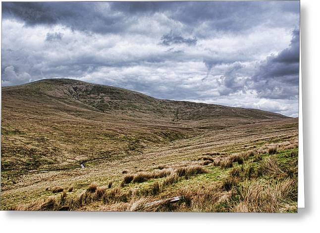 Exploring The Sperrin Mountains Greeting Card
