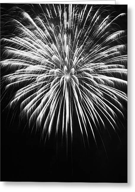 Explosion Greeting Card by Colleen Coccia