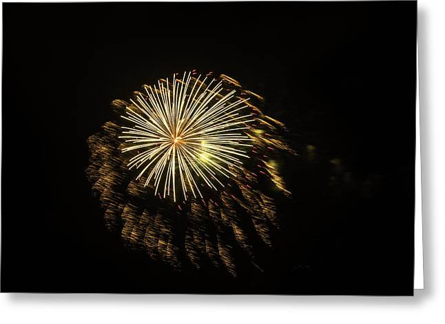 Explosive Fireworks Greeting Card
