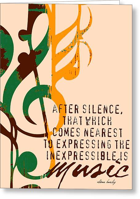 Expressing The Inexpressible Greeting Card