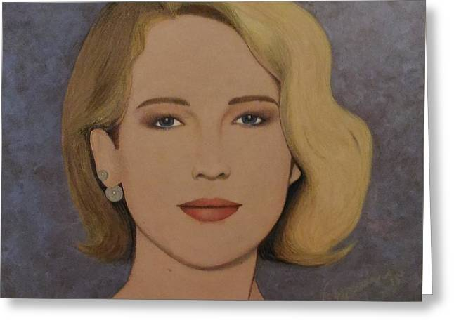 Exquisite - Jennifer Lawrence Greeting Card