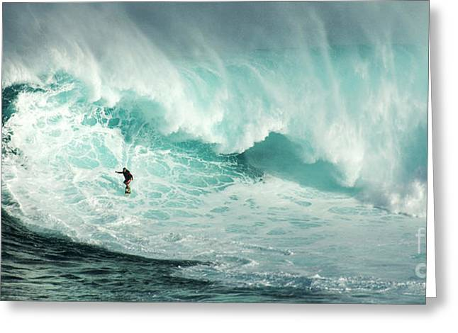 Extreme Surfing Hawaii 7 Greeting Card
