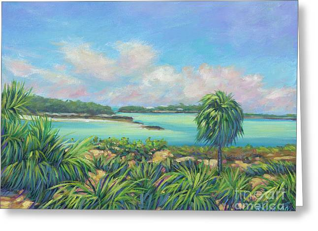 Exumas Escape Greeting Card by Danielle Perry