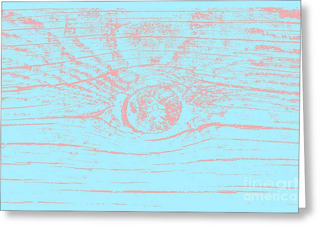 Eye 3 Magnetic Storm Greeting Card by Sverre Andreas Fekjan