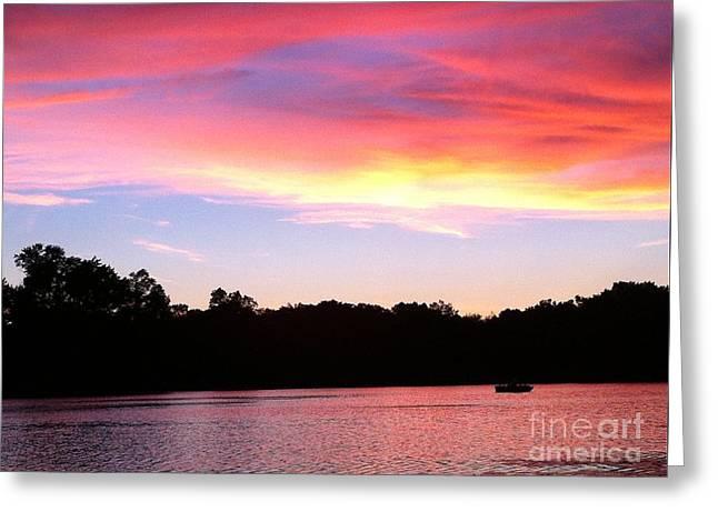 Eye In The Sky Greeting Card by Jason Nicholas