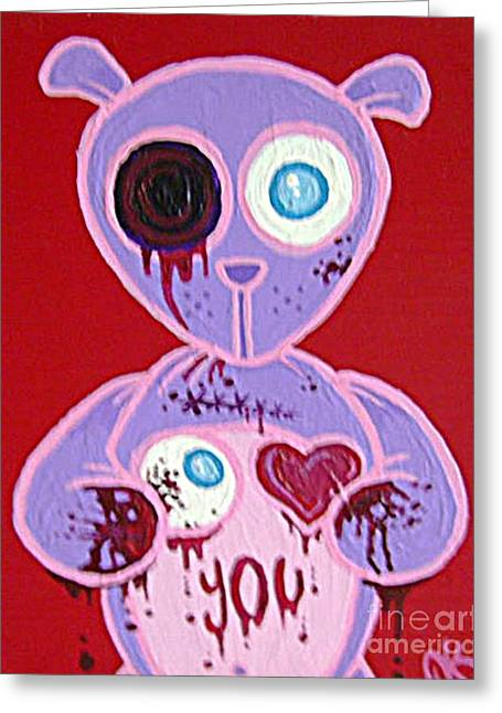 Eye Love You Greeting Card by Dan Keough