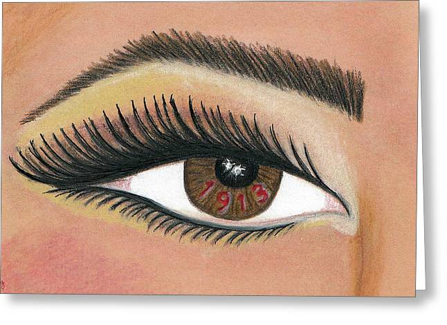 Eye Of The Beholder Series- 1913 Greeting Card by BFly Designs