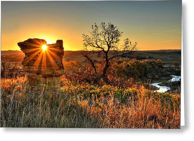Eye Of The Monolith Greeting Card