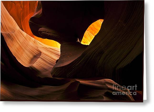 Eye Of The Needle Greeting Card by Mike  Dawson