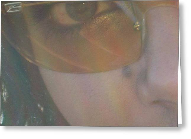 Greeting Card featuring the photograph Eye by Robin Coaker