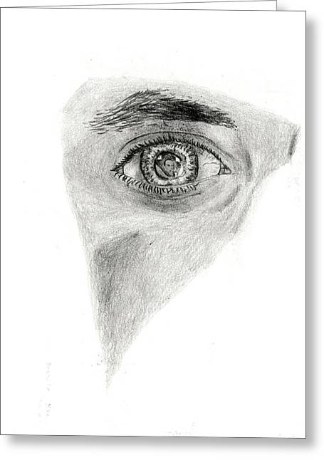 Eye See My Self Greeting Card by Michael McKenzie