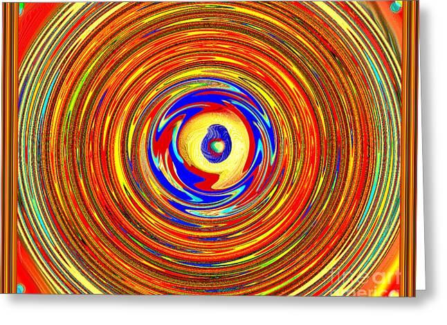 Eye See You Greeting Card by Debra Lynch
