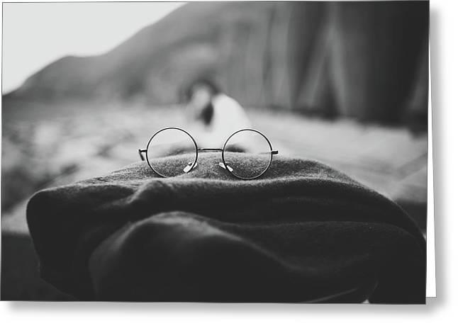 Eyeglasses Greeting Card