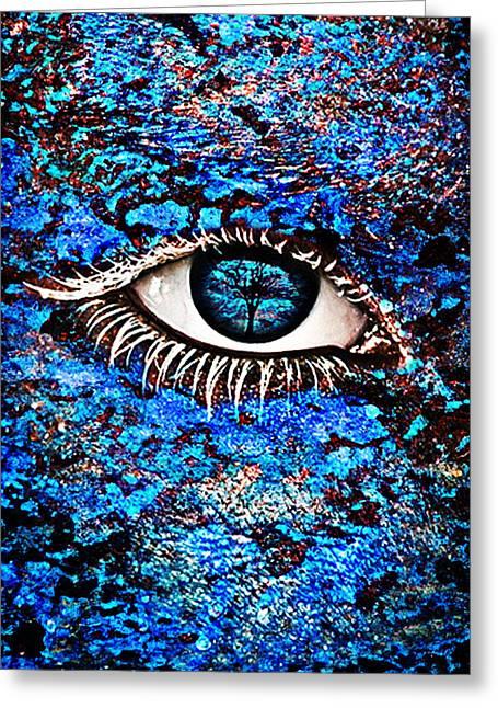 Eyelash  Greeting Card
