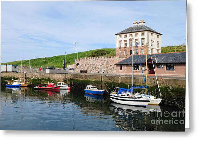 Eyemouth Greeting Card by Nichola Denny