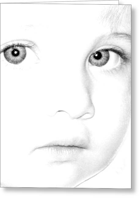 Eyes Of A Child Greeting Card